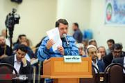 تصاویر | متهمان بانک سرمایه همچنان در دادگاه