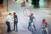 فیلم دوربین مداربسته حوزه علمیه از زورگیری با قمه در اهواز