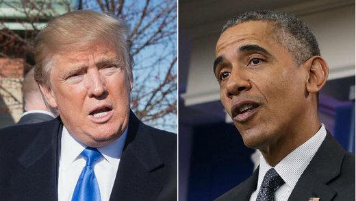 ترامپ با متهم کردن اوباما خود را مردی صادق دانست