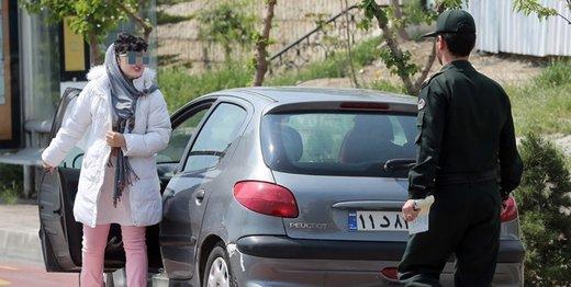 توضیح پلیس تهران درباره کتک زدن یک دختر توسط مامور: او مواد زده بود، مامور متخلف مجازات میشود