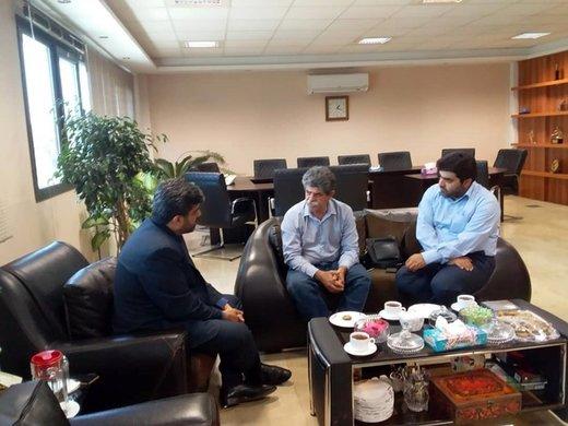 بازدید مدیرکل دفتر موسیقی از تمرین ارکستر ملی به خوانندگی حسامالدین سراج