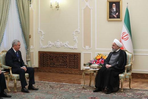 تقدیم استوارنامه سفیر جدید تاجیکستان به رئیسحمهور