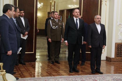 تقدیم استوارنامه سفیر جدید لهستان به رئیسجمهور