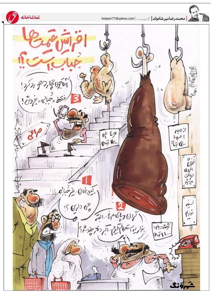 فروش گوشت حبابی در قصابیها!