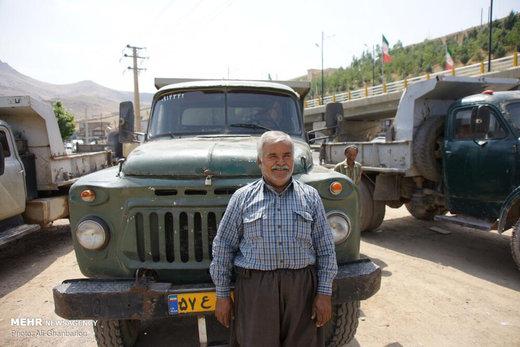 باربری با کامیونهای کلاسیک
