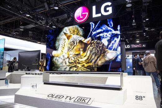 آغاز فروش اولین تلویزیون 8K OLED دنیا توسط الجی
