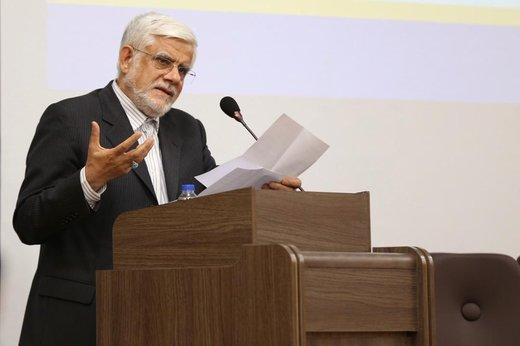 عیادت محمدرضا عارف از علی پروین/ عکس