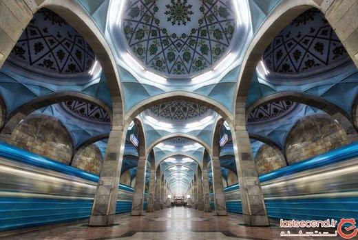 برای دیدن بهترینهای هنر و معماری در تاشکند، سوار مترو بشوید