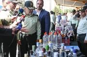 تصاویر | کشفیات پلیس در بازداشت ۳۶۶ شرور پایتخت