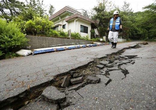 خسارات زلزله ۶.۸ ریشتری در ژاپن