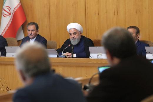 روحانی: توقف برخی اقدامات در چارچوب برجام، حداقل اقدام تهران است