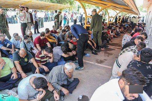 طرح سراسری برخورد با اراذل و اوباش در تهران