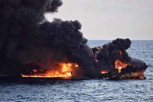 آمریکا: نفتکشها با مین دریایی ساخت ایران منفجر شدهاند!