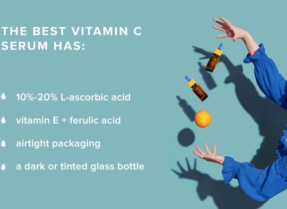 فواید سرم ویتامین C/ سرم ویتامین سی برای روشنتر کردن پوست