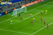 فیلم   داور همه گلهای برزیل را مردود کرد، بازی با ونزوئلا مساوی شد!