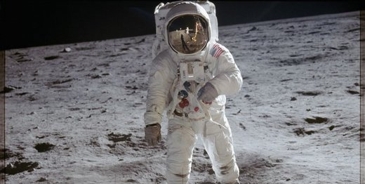 عکس تازه ناسا از زندگی انسان روی کره ماه