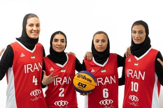 کاپ جهانی بسکتبال؛حذف بانوان ایران با شکست مقابل چک