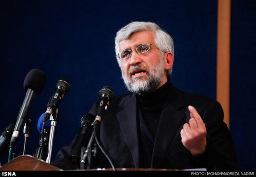 انتقاد سعید جلیلی از رایزنی های برجامی مکرون و روحانی/مگر حکم جلب هاشمی رفسنجانی را صادر نکرده بودند؟
