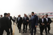 Turkish FM in Isfahan for bilateral talks