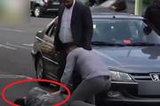 فیلم   زیرگرفتن پسر دستفروش توسط نماینده مجلس قلابی در تهران