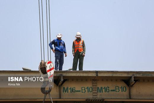 آغاز عملیات جمعآوری «پل گیشا»/ عکس