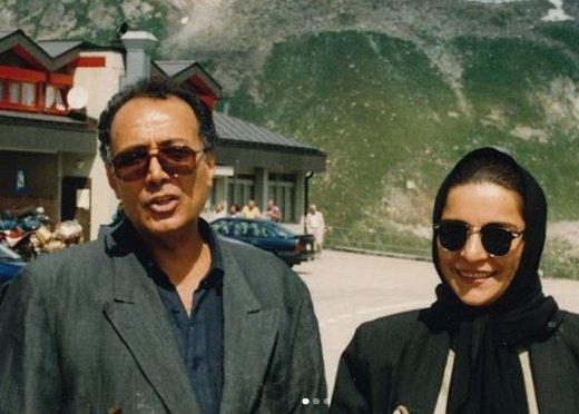 عکس | هدیه جذاب عباس کیارستمی به تهمینه میلانی
