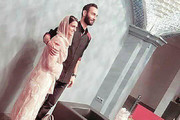 عکس | دختر و پسر مهران مدیری در مراسم رونمایی از آلبوم موسیقی
