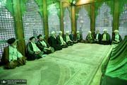 عکسی از همنشینی سیدحسن خمینی و ابراهیم رئیسی