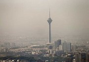 هوای تهران در نخستین روز تابستان آلوده شد