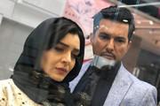 عکس | تیپ جدید ساره بیات در کنار حامد بهداد برای یک سریال