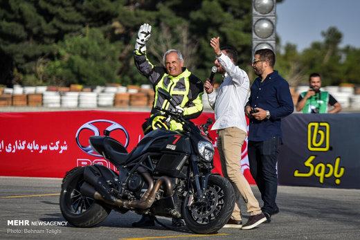 راند اول مسابقات موتور ریس قهرمانی کشور