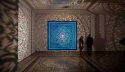 تصاویر   هنر بومی؛ تابش و نور سایه به سازههایی با اشکال متقارن و هندسی