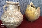 کشف ۲ خمره تاریخی از دوره اشکانی حین عملیات گازکشی در دزفول