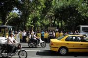 تصاویر   اعتصاب رانندگان مینیبوس در حاشیه جلسه شهر تهران