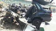 تصاویر | پراید در جاده دماوند متلاشی شد و رانندهاش را به کام مرگ کشاند