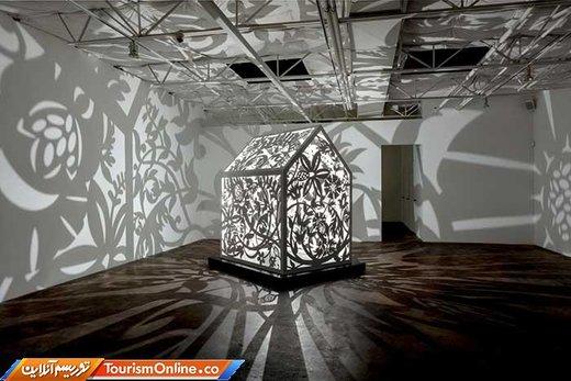 هنر بومی؛ تابش و نور سایه به سازه هایی با اشکال متقارن و هندسی