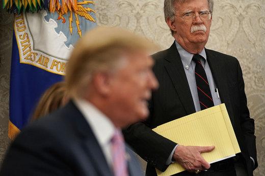 ترامب يتجه لإبعاد بولتون وتعديل سياسته الخارجية