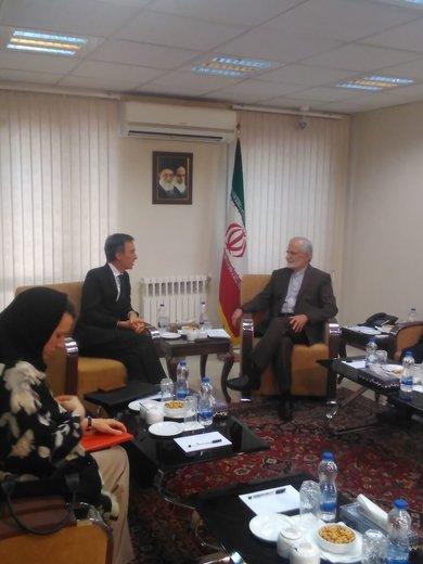 مذاکرات معاون وزیر خارجه انگلیس در تهران