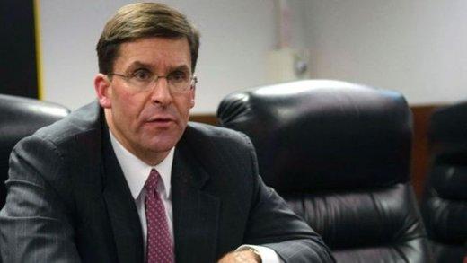 سرپرست وزارت دفاع آمریکا برای گرفتن رای اعتماد کناره گیری می کند