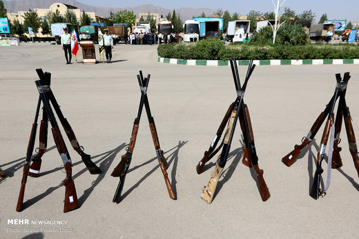 کشف کالاهای قاچاق در عملیات ظفر ۲۱