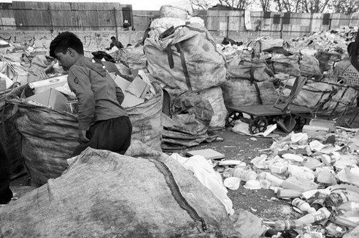 فقر کودکان لابهلای طلای کثیف