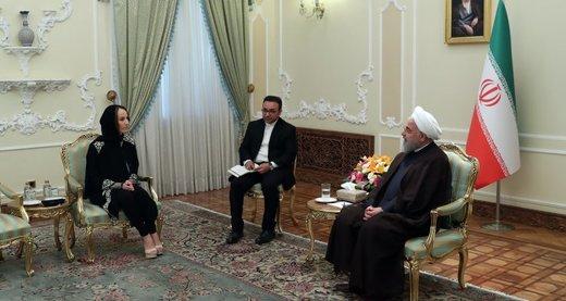 روحانی: تجاوز پهپاد به ایران آغاز تنشی جدید از سوی آمریکاست