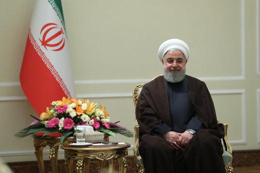 فیلم | واکنش روحانی به تحریم رهبر معظم انقلاب توسط آمریکا