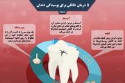 اینفوگرافیک | ۵ راه حل برای درمان پوسیدگی دندان