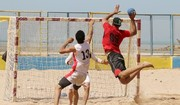Iran beach handball team ranks 3rd in Asia