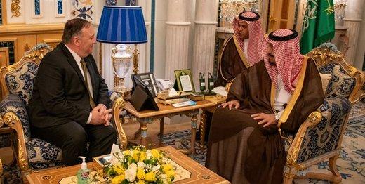 ارزیابی پمپئو  از دیدارهایش در عربستان سعودی