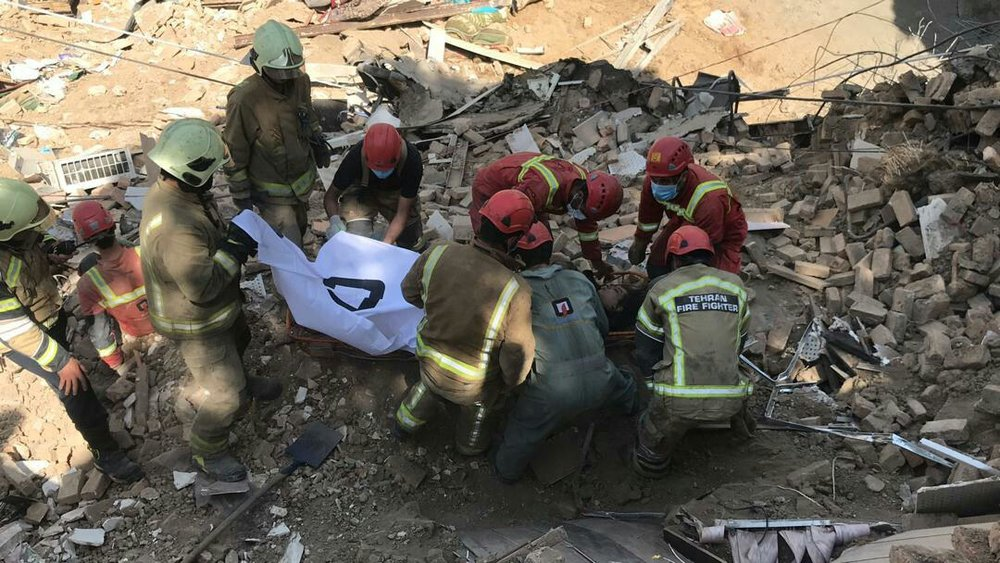 تصاویر | مرگ دلخراش یک زن در حادثه ریزش آوار در وردآورد