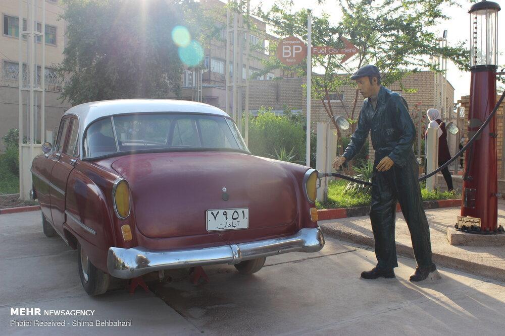 تصاویر | اولین پمپ بنزین ایران که حالا موزه شده