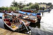 تصاویر   زندگی خوزستانیها در کنار تالاب شادگان