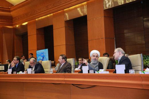 مراسم آغاز اسقرار برنامه پرونده الکترونیک سلامت در کشور